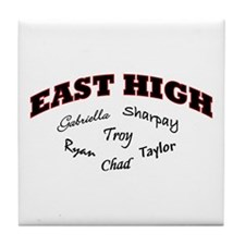 East High Tile Coaster