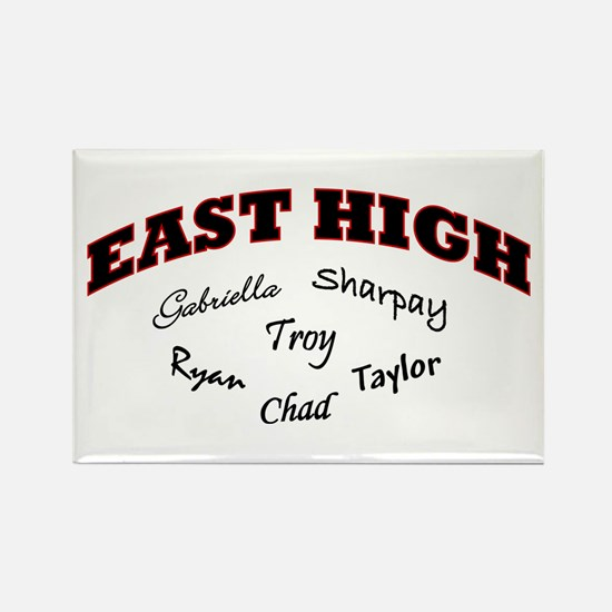 East High Rectangle Magnet
