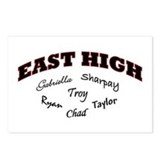 East High Postcards (Package of 8)