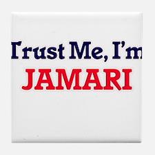 Trust Me, I'm Jamari Tile Coaster