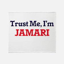Trust Me, I'm Jamari Throw Blanket