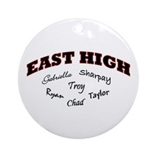 East High Ornament (Round)