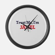 Trust Me, I'm Jamel Large Wall Clock