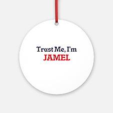 Trust Me, I'm Jamel Round Ornament