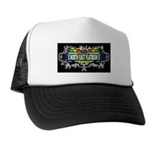 North East Flatbush (Black) Trucker Hat