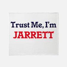 Trust Me, I'm Jarrett Throw Blanket