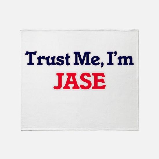 Trust Me, I'm Jase Throw Blanket