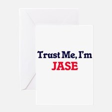 Trust Me, I'm Jase Greeting Cards