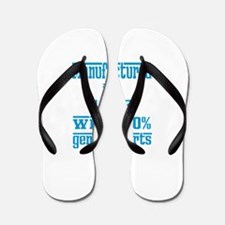 Manufactured in 1992 with 100% Genuine Flip Flops