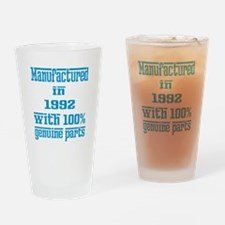 Manufactured in 1992 with 100% Genu Drinking Glass