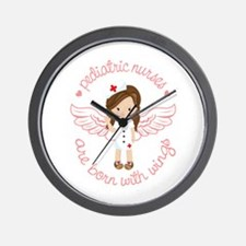 Pediatric Nurse Wall Clock
