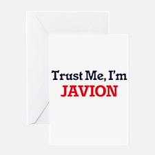 Trust Me, I'm Javion Greeting Cards