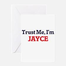 Trust Me, I'm Jayce Greeting Cards