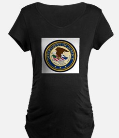 GOVERNMENR SEAL - DEPARTMENT OF Maternity T-Shirt