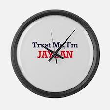 Trust Me, I'm Jaylan Large Wall Clock