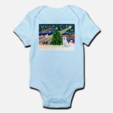 Xmas Magic & Akita Infant Bodysuit