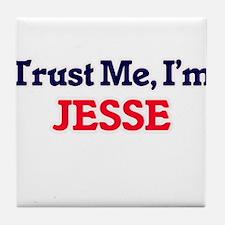 Trust Me, I'm Jesse Tile Coaster