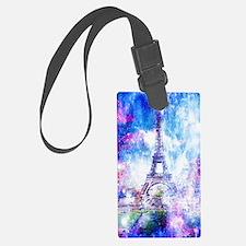 Funny Paris Luggage Tag