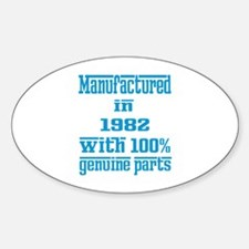 Manufactured in 1982 with 100% Genu Decal