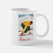Ski Park City UT Mug