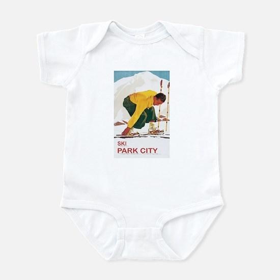 Ski Park City UT Infant Bodysuit