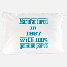 Manufactured in 1967 with 100% Genuine Pillow Case