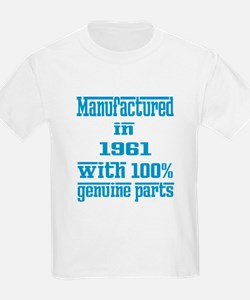 Manufactured in 1961 with 100% T-Shirt