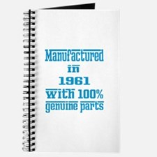 Manufactured in 1961 with 100% Genuine par Journal