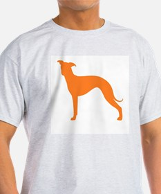 Greyhound Two Orange 1 T-Shirt