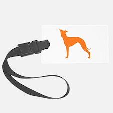 Greyhound Two Orange 1C Luggage Tag