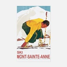 Ski Mont-Sainte-Ann Rectangle Decal