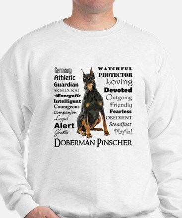 Doberman Traits Sweatshirt