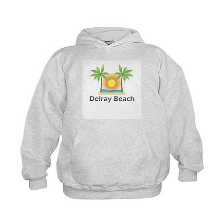 Delray Beach Kids Hoodie