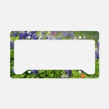 Funny Bluebonnets License Plate Holder