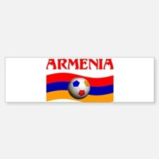 TEAM ARMENIA WORLD CUP Bumper Bumper Bumper Sticker