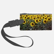 Unique Sunflowers Luggage Tag