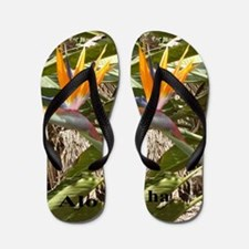 Birds of Paradise Flip Flops