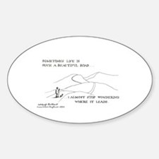 350 Oval Decal