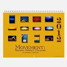 Colour :: 2013 Wall Calendar