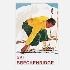 Ski Breckenridge Co Postcards (Package of 8)
