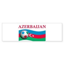 TEAM AZERBAIJAN WORLD CUP Bumper Bumper Sticker