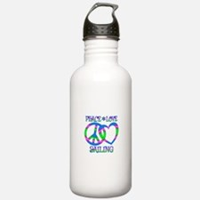 Peace Love Sailing Water Bottle