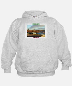 Boats at Annaghdown Hoodie