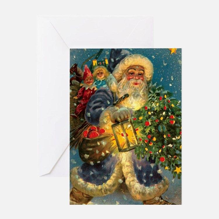 Christmas Santa Claus Greeting Cards