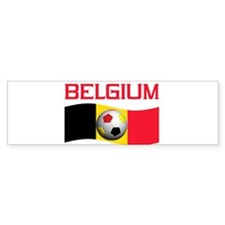 TEAM BELGIUM WORLD CUP SOCCER Bumper Bumper Sticker