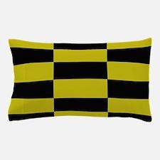 Pepper Mustard Checkerboard Pillow Case