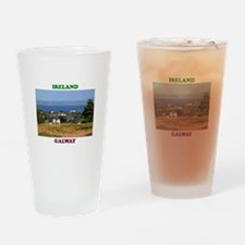 Circular Road, Galway Bay Drinking Glass