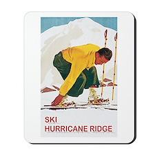 Ski Hurricane Ridge Mousepad