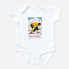 Ski Stowe Vermont Infant Bodysuit