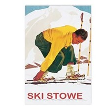 Ski Stowe Vermont Postcards (Package of 8)